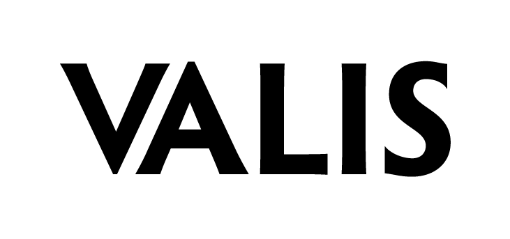 An image of the logo for VALIS, an Augmented Reality creative agency